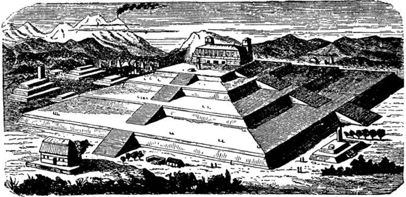 Come doveva apparire l'immensa piramide
