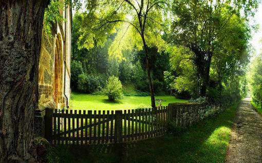 Vivere in un'oasi naturale