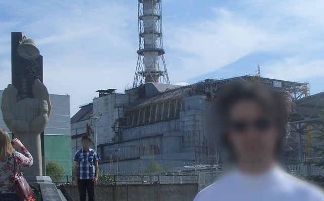 Foto e Selfie pericolosi a Chernobyl
