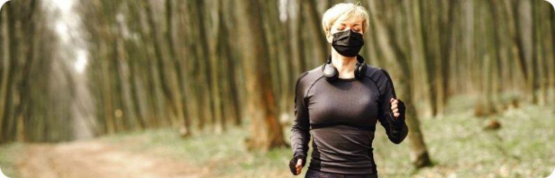 Le mascherine sono dannose. Non indossarla mentre corri